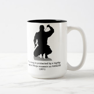 Hands of Ninja protected Mug
