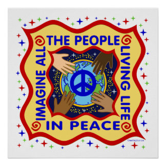 Hands of Peace Poster