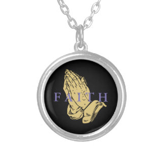 Hands of Prayer Necklace