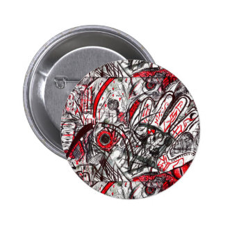 Hands of Rage Pen Drawing Button
