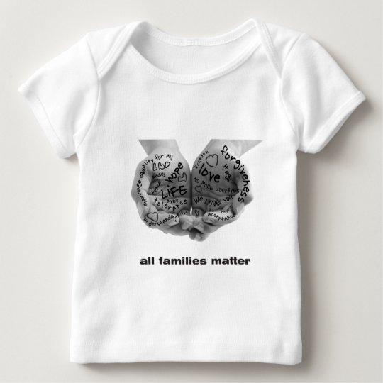 Hands of Support-onesie Baby T-Shirt