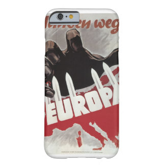 Hands off! (1943)_Propaganda Poster Barely There iPhone 6 Case