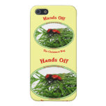 Hands Off Christmas Bug Red Velvet Ant iPhone 5 Cover