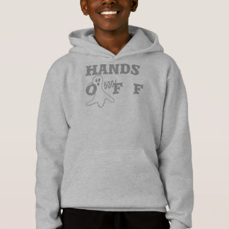 Hands Off Custom Kids' Hanes ComfortBlend® Hoodie