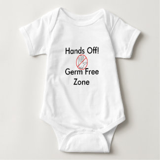 Hands Off Germ Free Zone Shirts