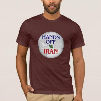 HANDS OFF IRAN! - iranian/tehran/peace/war/protest T-Shirt