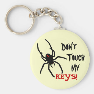 Hands Off Key Chain