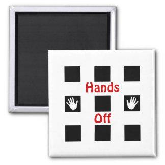 Hands Off Magnet