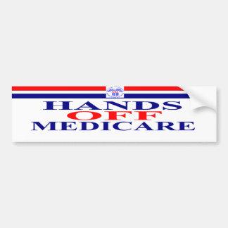 Hands Off Medicare Bumper Sticker