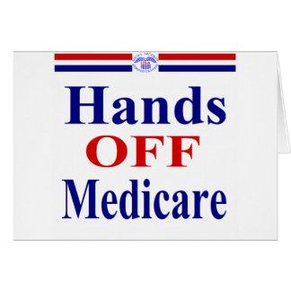 Hands Off Medicare Cards