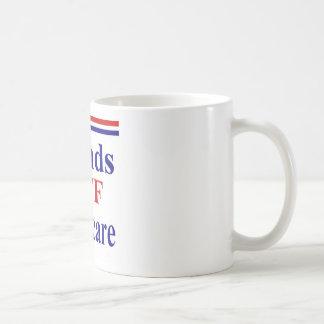 Hands Off Medicare Coffee Mug