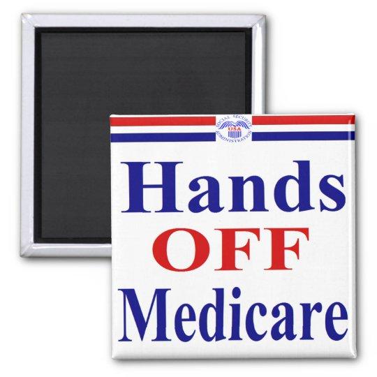 Hands Off Medicare Magnet