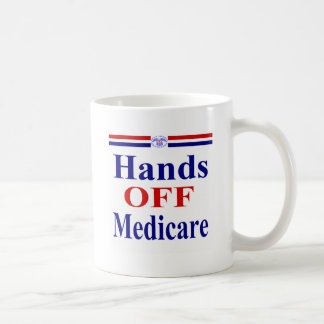 Hands Off Medicare Coffee Mug