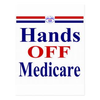 Hands Off Medicare Postcard