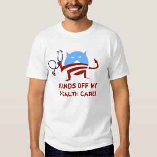 Hands Off My Health Care Tee Shirt