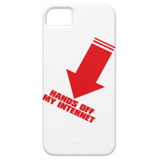 HANDS_OFF_MY_INTERNET iPhone SE/5/5s CASE
