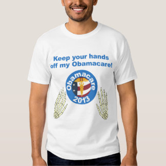 Hands off my Obamacare Mens T-shirt