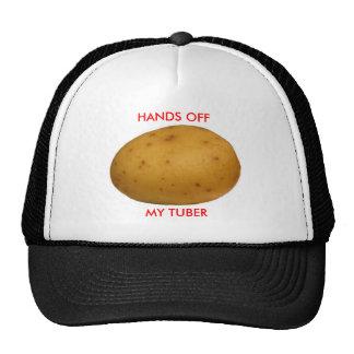 Hands Off My Tuber Mesh Hat