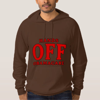 HANDS OFF OBAMACARE HOODIE