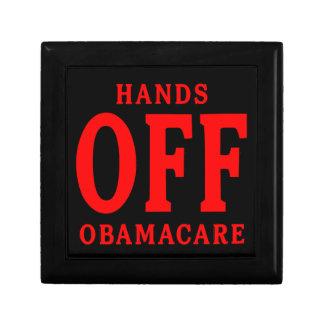 HANDS OFF OBAMACARE TRINKET BOXES