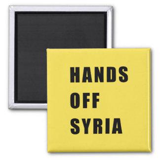 Hands off Syria Magnet