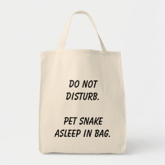 Hands off the bag! tote bag
