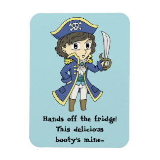 Hands off the fridge! - Pirate magnet