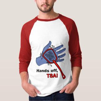 Hands Off, TSA! 3/4 Sleeve Male T Shirt