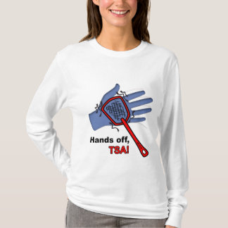 Hands Off, TSA! Long Sleeve Female T-Shirt