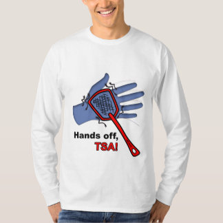 Hands Off, TSA! Long Sleeve T-shirt Male