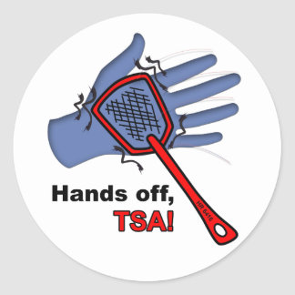 Hands Off, TSA! Sticker