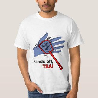 Hands Off, TSA! T-shirt Male