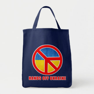 Hands Off Ukraine Tote Bag