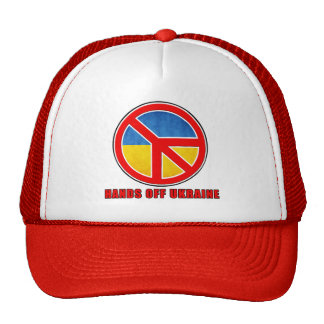Hands Off Ukraine Trucker Hat
