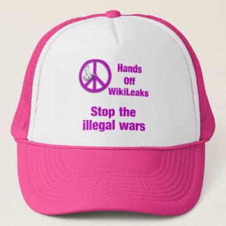 Hands off WikiLeaks Trucker Hat