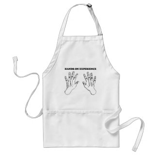 Hands-on experience adult apron