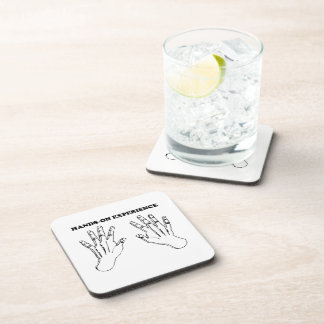 Hands-on experience beverage coasters