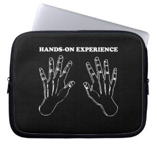 Hands-on experience laptop sleeve