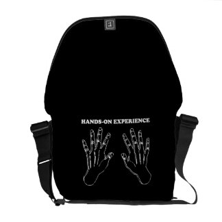 Hands-on experience messenger bags