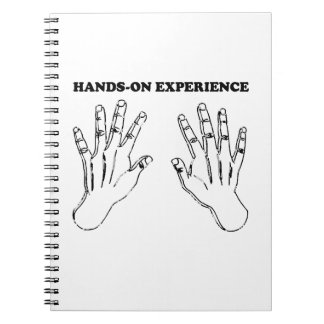 Hands-on experience note books