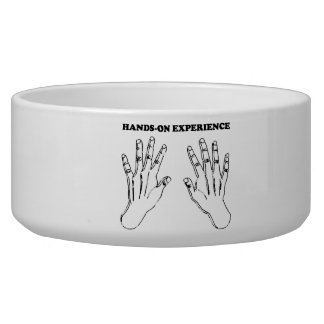 Hands-on experience dog food bowls