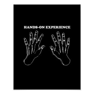 Hands-on experience poster