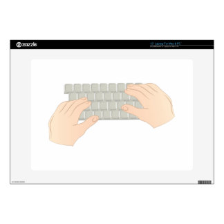 """Hands On Keyboard Decals For 15"""" Laptops"""