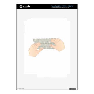 Hands On Keyboard iPad 3 Skin