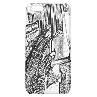 Hands playing piano bw sketch music design cover for iPhone 5C