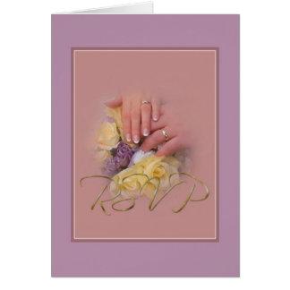 Hands - RSVP Card