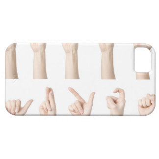 Hands showing Chinese way of counting iPhone SE/5/5s Case