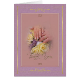 Hands - Thank You Card
