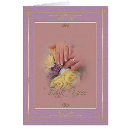 Hands - Thank You Cards