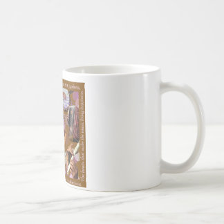 Hands That Make the Music ..Make Happiness (Brown) Classic White Coffee Mug